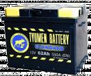 Аккумулятор Тюмень  6СТ - 62 L Standard о/п