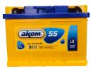 Аккумулятор АКОМ  LB 55 Евро