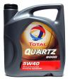 Моторное масло TOTAL QUARTZ 9000  5W40 4л.